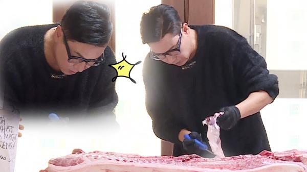 이상민, 궁셰프의 능숙한 발골쇼 스타트!