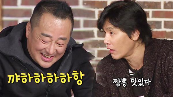 권선국 향한 호평 일색 '연말요정표 짬뽕 먹방'