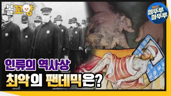 [엠뚜루마뚜루] 인류 역사상 최악의 팬데믹은? #엠뚜루마뚜루 MBC210107방송