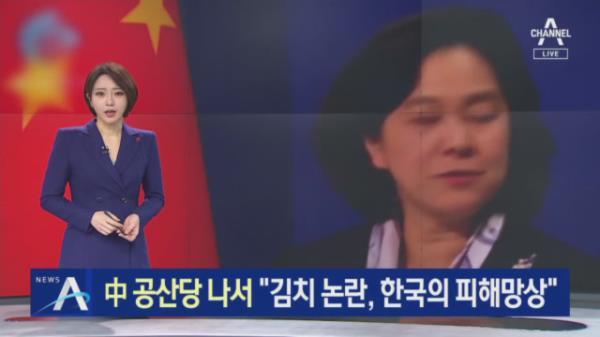 """中 공산당까지 나섰다…""""김치 논란, 한국의 피해망상"""""""