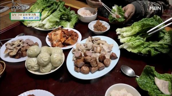 침샘폭발★ 3대가 함께 하는 고기 파티 MBN 210119 방송