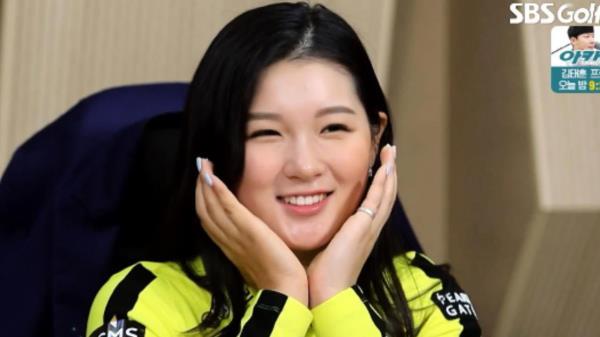 박현경, 2021시즌 이런 우승하고 싶다!