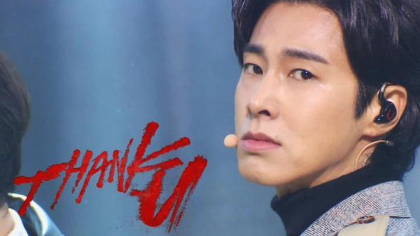 K-POP 제왕 '유노윤호'의 짙은 남성美♥ 'Thank U'