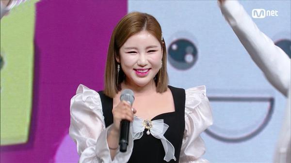 시원 보이스 '송가인'의 '트로트가 나는 좋아요' 무대 | Mnet 210128 방송
