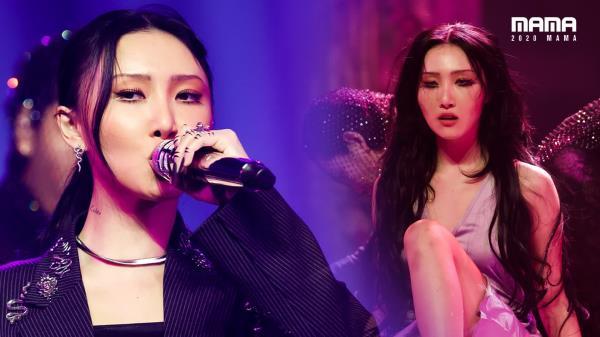 [2020 MAMA] 화사(Hwa Sa)_Intro + 마리아(Maria) | Mnet 201206 방송