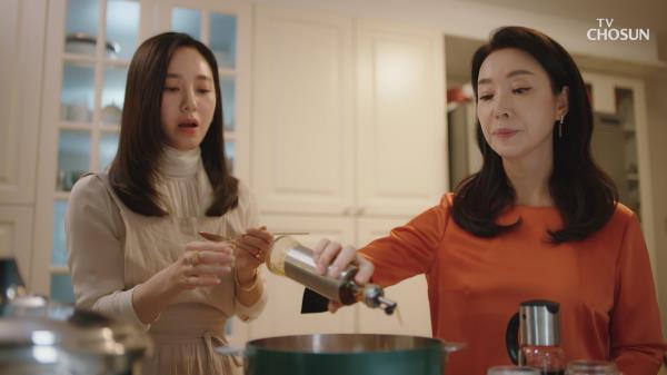 【김보연 VS 박주미】 여자들의 은근한 기싸움👿 TV CHOSUN 20210227 방송