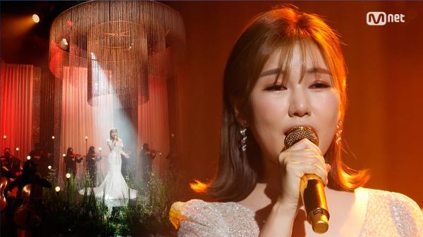 '최초 공개' 명품 OST '송가인'의 '내 마음의 사진' 무대 | Mnet 210304 방송