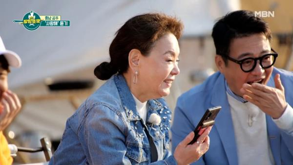 ♥며느리 바보♥ 김수미. 서효림과의 깜짝 통화 MBN 210410 방송