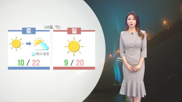 [05/07] 13년만의 5월 황사경보,주말 대기질 매우 나쁨 (이지현 기상캐스터)