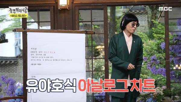 유야호식 아날로그 차트 등장👍 동서양의 분석 기법으로 찾은 환상의 궁합💖, MBC 210508 방송
